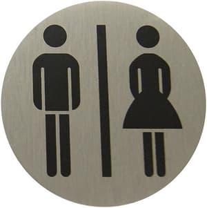 Plaque alu femme/homme