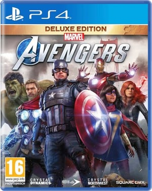 PS4 - Marvel's Avengers - Deluxe Edition