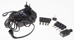Universal-Steckernetzgerät 1500mA schwarz