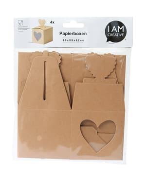 Paquet de papier, coeur