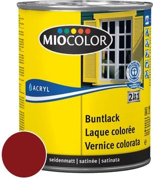 Acryl Vernice colorata satinata Rosso vino 750 ml
