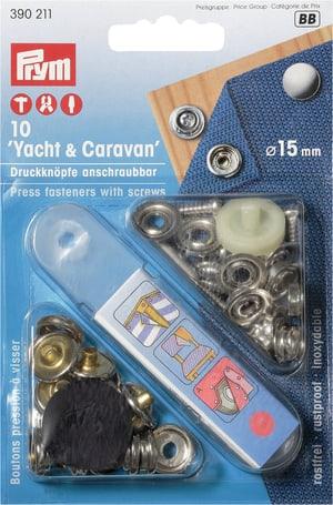 Yacht & Caravan Boutons-pression