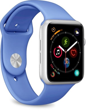 Icon Silicone Band - Apple Watch 42-44mm - formentera blue