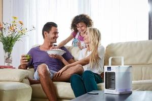 Cool HP   Verdunstungskühler mit Fernbedienung