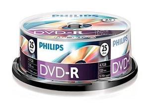 DVD-R 4.7 Go 25-Pack
