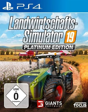 PS4 - Landwirtschafts-Simulator 19 - Platinum Edition D