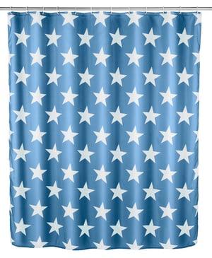 Duschvorhang Stella dunkelblau Anti-Schimmel
