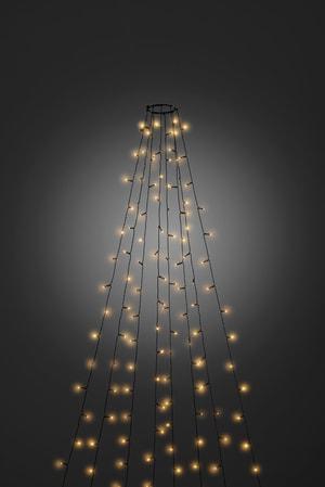 LED Baummantel mit Ring