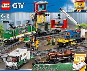 Lego City Le train de marchand 60198