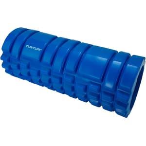 Yoga Schaumblock Massage Roller 33 cm  blau