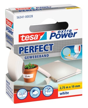 extra Power® Perfect 2.75m:19mm weiss