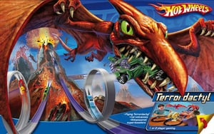 HOT WHEELS PTEROSAURUS