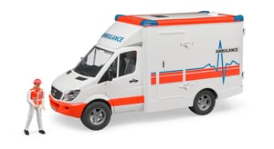Ambulance MB Sprinter avec conducteur