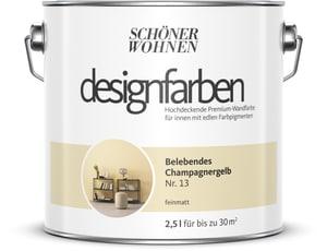 Designfarbe Belebendes Champagnergelb 2,5 l