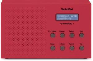 Techniradio 3 - Rosso