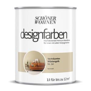 Designfarbe Wüstengelb 1 L