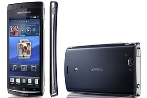 Sony Ericsson Xp_silver