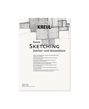 KREUL Paper Sketching 20 Blatt 120 g/m²  DIN A4