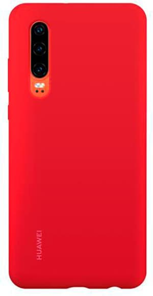 Hard-Cover Silicone Case red