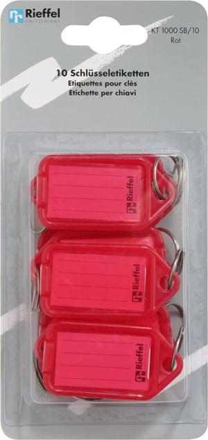 Etichette  rosso, 10 pezzi