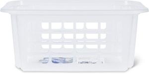 Reverso Dreh- und Stapelkorb 4.5l, Kunststoff (PP) BPA-frei, transparent