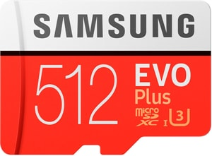 microSDXC-Karte Evo Plus UHS-I U3 512 GB