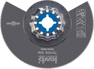 Tauchsägeblatt Bi-Metall halbrund, Ø 85 mm