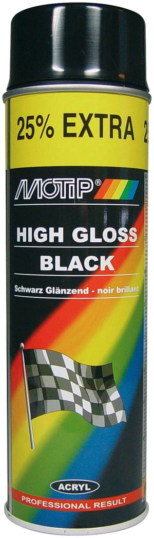 High Gloss Black 500 ml