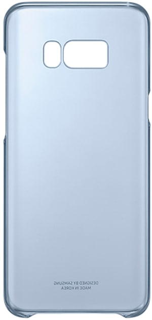 Clear Cover bleu