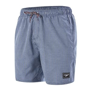 "Gingham Check Leisure 16"" Watershort"
