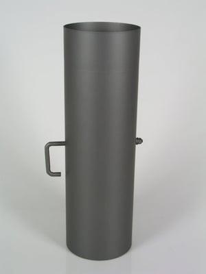Rauchrohr 50 cm, mit Drosselklappe