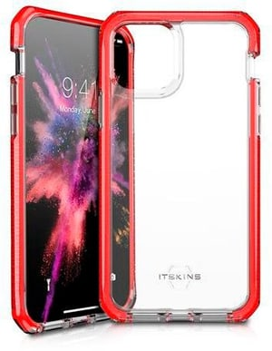 Hard Cover SUPREME CLEAR red transparent