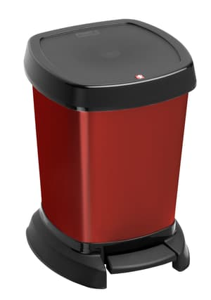 PASO poubelle 6 L rouge