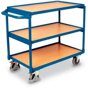 Carrello con tavolo 3 piani 250 kg