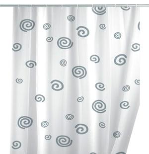 Duschvorhang Schnecke