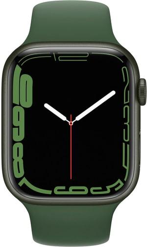 Watch Series 7 GPS + Cellular, 45mm Green Sport Band