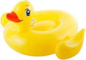 Canard gonflable à chevaucher