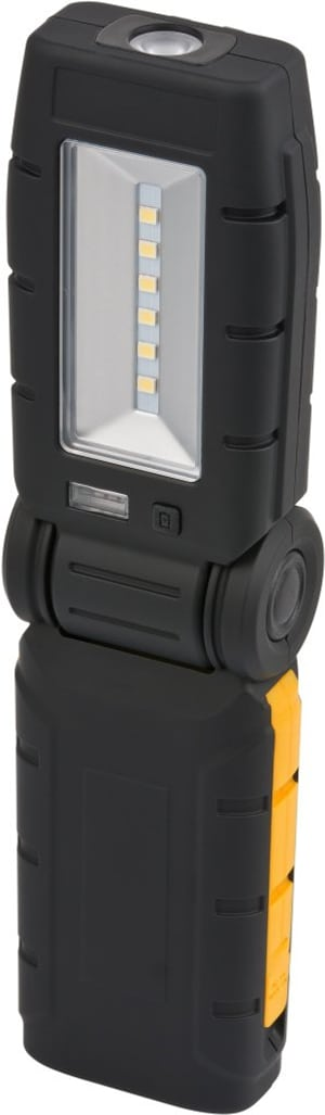 Lampada akku 6+1 LED con stazione caric