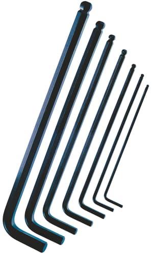 Set di chiavi a brugola con testa sferica Classic 7 pz.