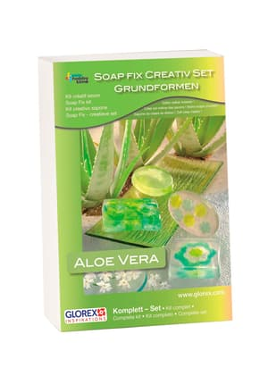 Kit créatif SoapFix avec Aloe Vera