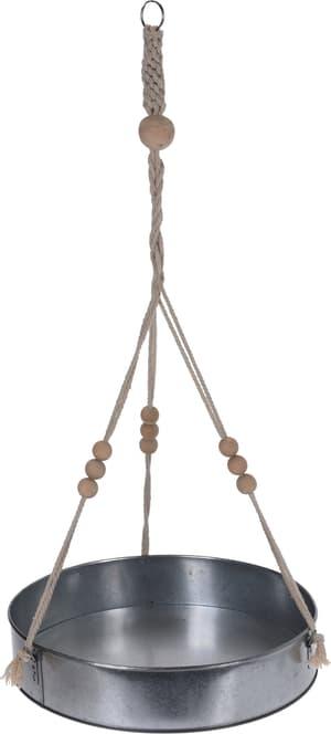 Ampel aus Metall mit Seil