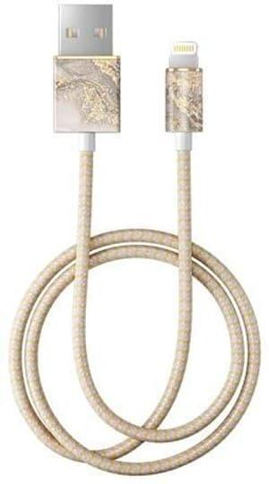 "Câble 1.0m, Lightning->USB  ""Sparkle Greige Marble"""