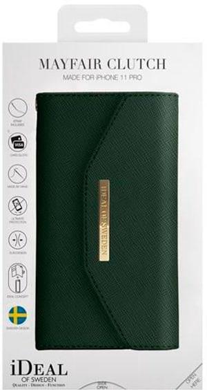 Book-Cover Mayfair Clutch green