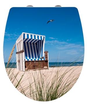 WC-Sitz Strandkorb