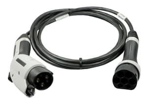 Adaptateur câble de charge Type 2 / Type 1 230 V 16 A 5 m