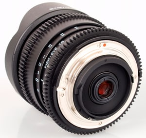 8mm / 3.5 IF MC Fisheye CS II Obiettivo Canon
