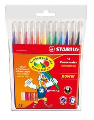 Fasermaler STABILO® power, 12 Stifte
