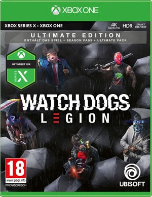 Xbox One Watch Dogs: Legion -- Ultimate Edition (18) [D/F/I]
