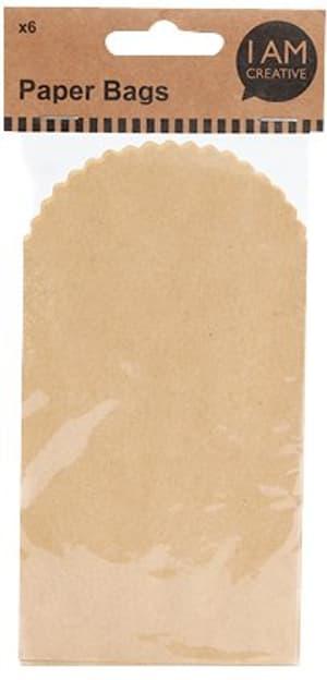 Sacs de papier, brun