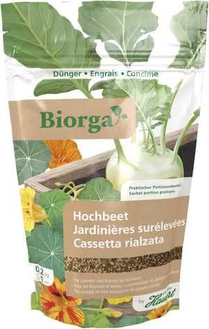Biorga Hochbeetdünger, 200 g